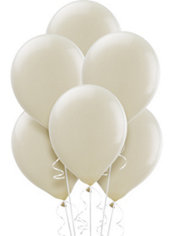 Vanilla Cream Latex Balloons 12in 15ct