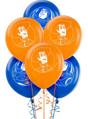 Latex Toy Story 3 Balloons 12in 6ct