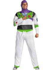 Adult Buzz Lightyear Costume Plus Size - Toy Story