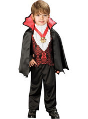 Toddler Boys Transylvanian Vampire Costume