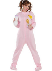 Adult Pink Pajamas Costume