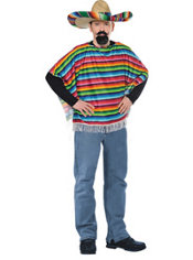 Adult Ole Mexican Serape