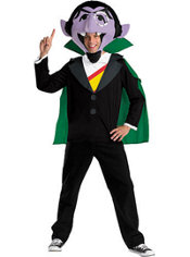 Adult The Count Costume - Sesame Street