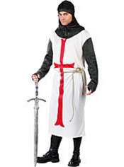 Adult Templar Knight Costume