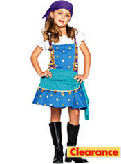 Toddler Girls Gypsy Princess Costume
