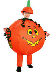 Child Inflatable Pumpkin Costume