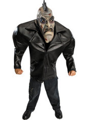 Teen Boys Big Bruiser Punk Zombie Costume