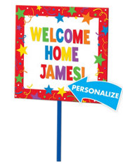 Personalized Yard Sign 14in x 15in