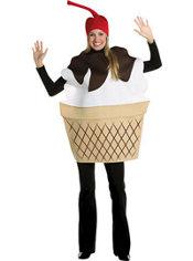 Adult Ice Cream Sundae Costume