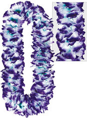 Purple Divine Flower Lei