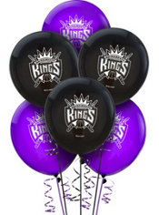 Sacramento Kings Balloons 6ct