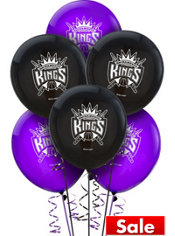 Sacramento Kings Balloon 6ct