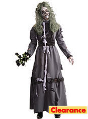 Adult Victorian Lady Zombie Costume