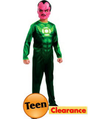 Teen Boys Sinestro Costume - Green Lantern