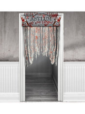 Bloody Doorway Curtain 57in