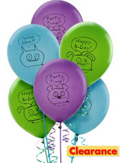 Happy Birthday Uglydoll Balloons 6ct