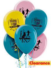 Latex Shake It Up Balloons