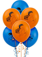 Latex Go, Diego, Go! Balloons 12in 6ct
