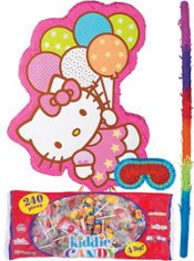 Pull String Balloon Dreams Hello Kitty Pinata Kit