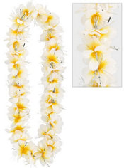 Yellow Aloha Flower Lei