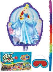 Pull String Cinderella Pinata Kit