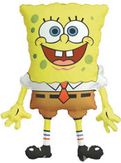 Foil SpongeBob Balloon 26in