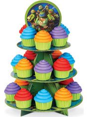 Teenage Mutant Ninja Turtles Cupcake Stand