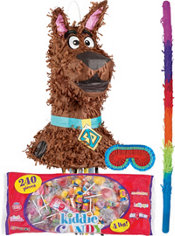 Pull String Scooby-Doo Pinata Kit