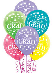Dream Big Graduation Balloons 15ct