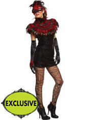 Adult Fabulous Fire Bird Costume