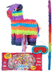 Pull String Bull Pinata Kit