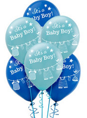 It S A Boy Baby Shower Balloons 15ct Party City