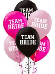 Team Bride Balloons 15ct