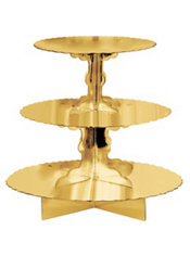 Gold Cupcake Stand