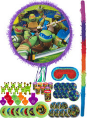 Teenage Mutant Ninja Turtles Pinata Kit with Favors