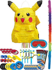Pikachu Pinata Kit with Favors - Pokemon