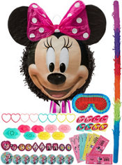 Smiling Minnie Mouse Pinata Kit with Favors
