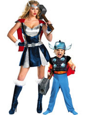 Thor Mommy and Me Costumes