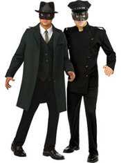 Deluxe Green Hornet and Deluxe Kato Couples Costumes