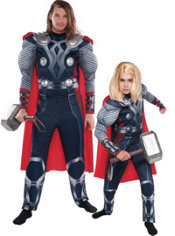 Thor Daddy and Me Costumes