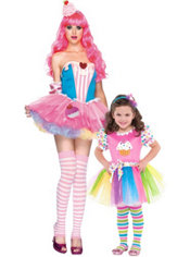 Cupcake Mommy and Me Costumes
