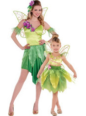 Tinker Bell Mommy and Me Costumes