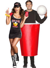 Got Balls Beer Pong and Red Cup Couples Costumes
