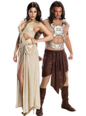 Dejah Thoris and John Carter Couples Costumes