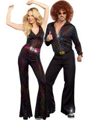 Disco Couples Costumes