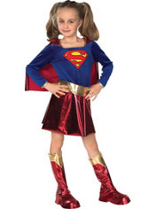 Girls Supergirl Costume Deluxe