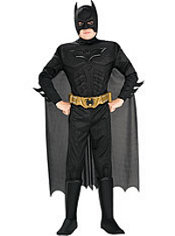 Boys Batman Muscle Costume - The Dark Knight