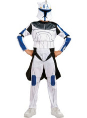 Boys Captain Rex Costume - Star Wars Clone Wars
