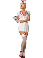 Adult Ophelia Payne Nurse Costume