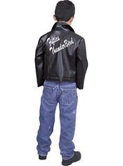 Boys 50's Thunderbird Jacket Costume
